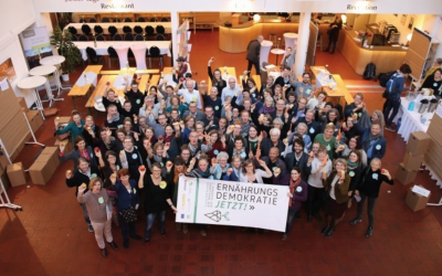 Ernährungsdemokratie Jetzt!  Eindrücke vom 1. Vernetzungskongress der Ernährungsräte